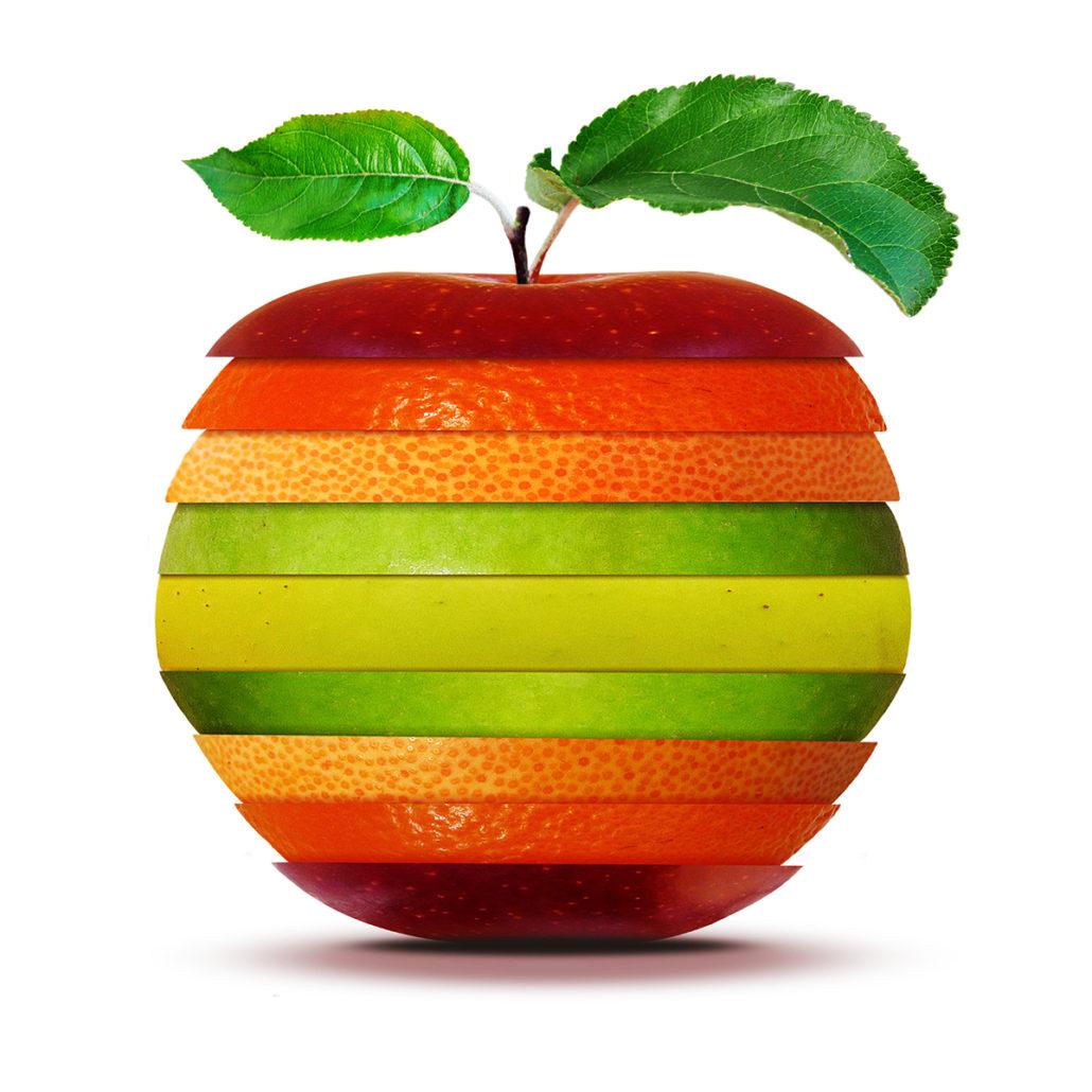 Frukt är bra för hälsan